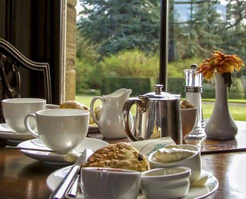 The Earl Grey Tea House at Howick Hall