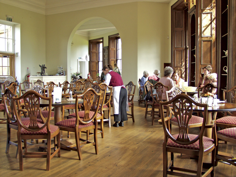 The Earl Grey Tea House in Howick Hall