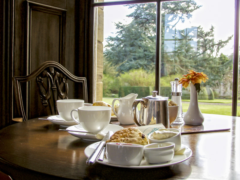 Enjoy a cup of Earl Grey Tea at Howick Hall